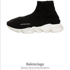 Balenciaga speed trainer socks sneakers